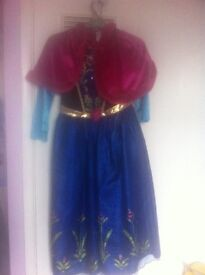 3 princess dressing up outfits 9 -10 years