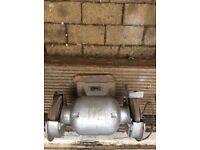 Bench grinder heavy duty motor garage workshop metalwork
