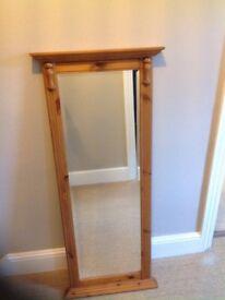 Ducal long rectangular mirror