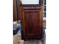 Edwardian Style Mahogany Corner Cabinet