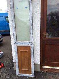 PVC antique pine door panel
