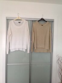 Ladies jumpers and cardigans