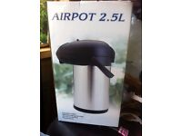 Airpot 2.5L Thermos flask brand new