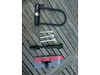 U lock + pump + spanners set