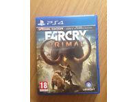 Playstation 4 FarCry Primal special edition