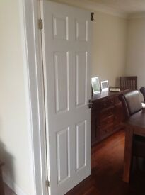 Internal White Pannelled Doors