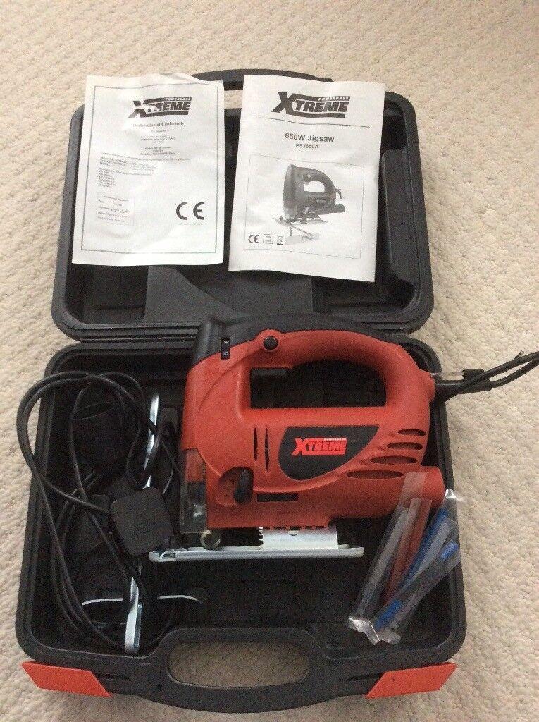 Xtreme Power Base 650w Jig Saw (new)
