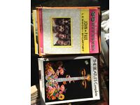 The Beatles Complete song book + The second book of 50 hit songs by Lennon and McCartney.