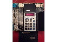 Bowmar Original 1975 MX35 Electronic Calculator