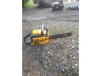 Partner chain saw in good working order