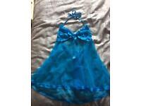 Blue mesh lingerie 💙