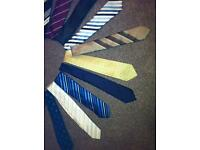 18 neck ties all in lovely condition 100% polyester £8 for all. Bargain!