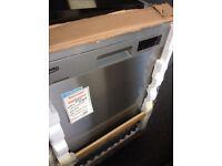 Beko stainless steel pro smart inverter full size dishwasher new 12 mth gtee