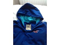 Hollister blue hoodies - one large / one small