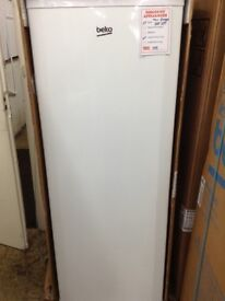 Beko tall freezer. 5 draws RRP £289 price £199 new in package 12 month gtee