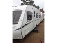Abbey freestyle 540 2008 4 berth fixed bed
