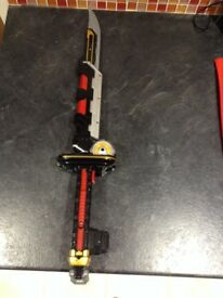 Power Ranger Super Samari Mage Morph Sword