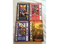 Marvel Comics The Essential X-Men Vols 1,2,3,4,5,6 and 8 and Essential Wolverine Vols 2 and 3