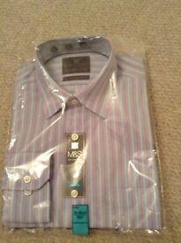 Striped 15.5 inch shirt