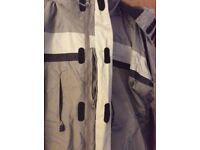 Neutral colour George ski jacket, size medium