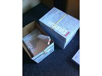 Office Supplies, Paper, In Tray, Corkboard, Folders