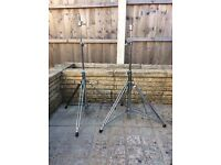 Rogers Drums-vintage cymbal stands (Swivomatic) Great condition