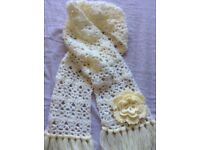 Pretty flowery scarf