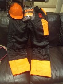 Chainsaw protective clothing