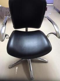 Hairdressers stylist chair