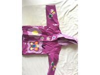 Girls kidarable raincoat 2-3 years