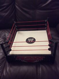 2 x WWE Wrestling Rings Raw and TLC