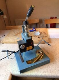 Bellwood photographic hot embossing machine