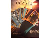 Fantastic Beasts and Where to Find Them and Harry Potter Panini Stickers