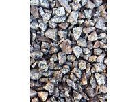 20 mm Dalbeattie granite garden driveway chips/ stones/ gravel