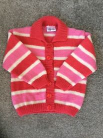Girls Brand New Hand Knitted Cardigans/Jackets