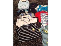 BABY BOY CLOTHES BUNDLE - Size 0/3 Months