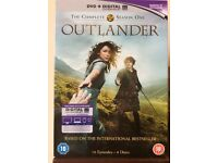 OUTLANDER: The Complete Season One. Immaculate Condition. Never watched.