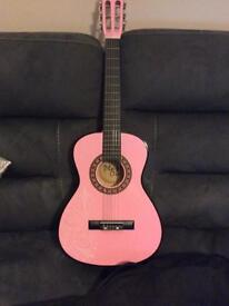 Kids Acoustic guitar, with case