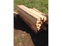 Reclaimed timber/fence posts