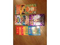 Children's books, The magic key, where's sting, Art attack
