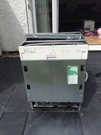 Dishwasher for sale. Good condition. Built in kitchen under counter washer.