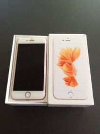 iPhone 6s 64gb Rose Gold on EE