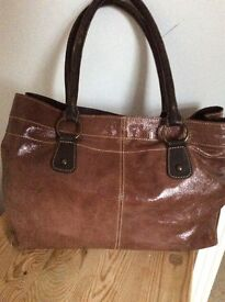 Womens leather Boden bag.