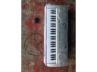 Acoustic Solutions MK-4100A Electronic Keyboard - Good condition and fully working - Power Cord Inc