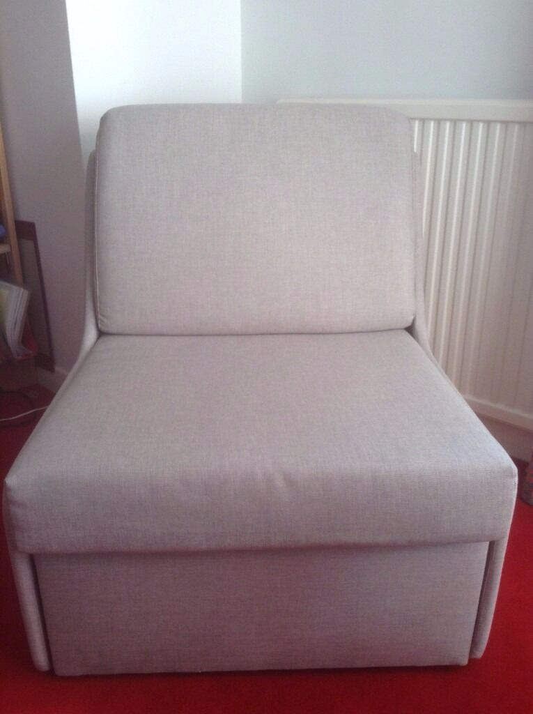 Astounding Jessie Chairbed From John Lewis Converts To Single Bed Pale Stone Colour Excellent Condition In Clifton Bristol Gumtree Cjindustries Chair Design For Home Cjindustriesco