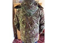 Fishing Jackets. Choice of three jackets: 1 Light green 2 Canoflafe sizes: 38:40:42 As new Choose 1