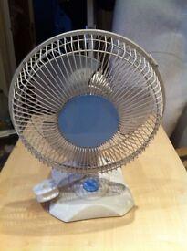 £5.00 tabletop electric fan