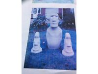 Mould for Easter island head