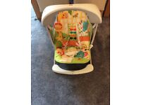 Fisher - price Rainforest Friends Take Along Swing and Seat