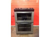 Tricity bendix electric cooker 60cm stainless steel double oven 3 months warranty free local delive